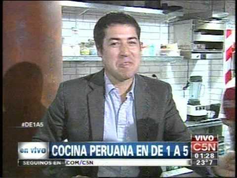 C5N  - CONSUMO:  COCINA PERUANA EN DE1A5