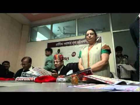 Parmar Unveiled the Calender of Mahka Jagat