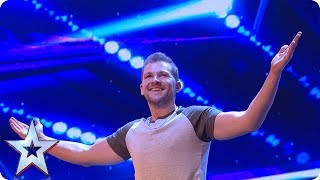 Video Sascha Williams TOTALLY UNEXPECTED act wows Judges | Auditions Week 1 | Britain's Got Talent 2018 MP3, 3GP, MP4, WEBM, AVI, FLV Desember 2018