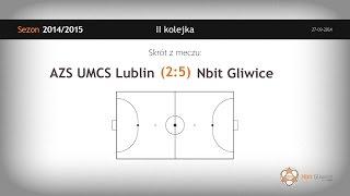 AZS UMCS Lublin vs NBit Gliwice (2 kolejka) - skrót