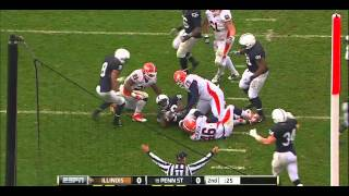 Gerald Hodges vs Illinois (2011)