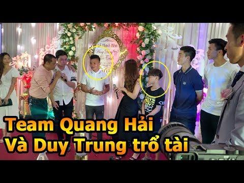 Thử Thách Bóng Đá ngày cưới Đỗ Hùng Dũng - Team Quang Hải Duy Mạnh Đoàn Văn Hậu ĐT Việt Nam trổ tài - Thời lượng: 11:43.