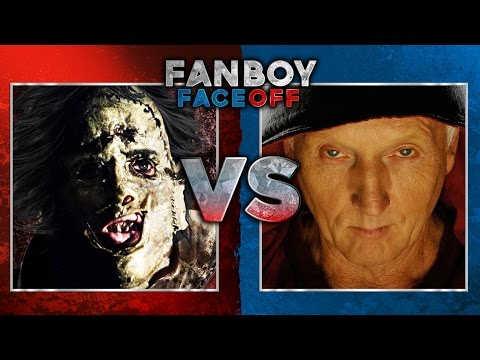 faceoff - Texas Chainsaw Massacre vs Saw: Fanboy Faceoff Subscribe Now! ▻ http://bit.ly/SubClevverMovies You're going to need a towel for this blood spatter barrage as we pit the sadistic torture...