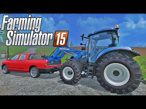 Farming Simulator 2015 Multiplayer - Plantando Árvores