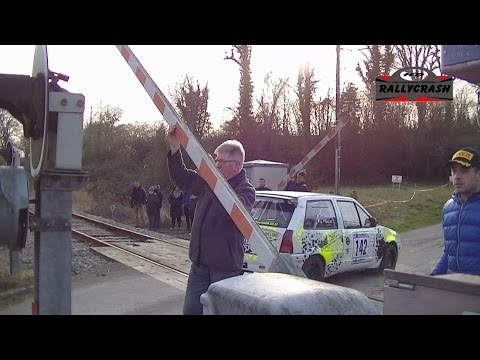 rallye de la cote fleurie 2017 #Attention au train!!!
