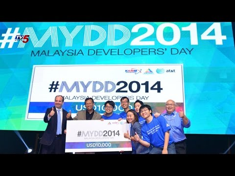 App Competition On Malaysia Developers Day | AT&T/MCMC 2014 : TV5 News