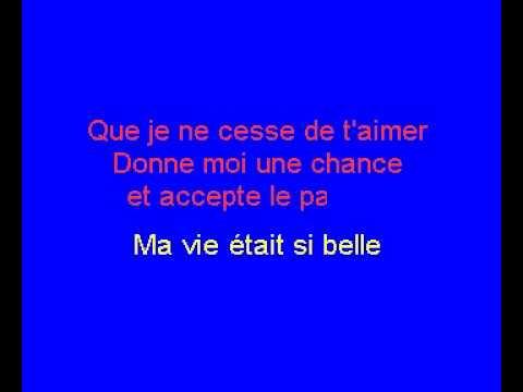 Andre & Ghislaine   L'amour Est Chose Du Passe Rene - Karaoké en Français