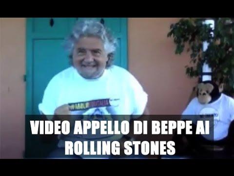 Italia5Stelle chiama %23RollingStones5Stelle - Appello di Beppe Grillo