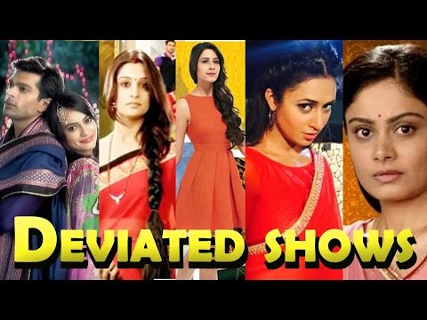 Shows that deviated from their storyline!