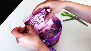 Shrink Wrap An Easter Basket!