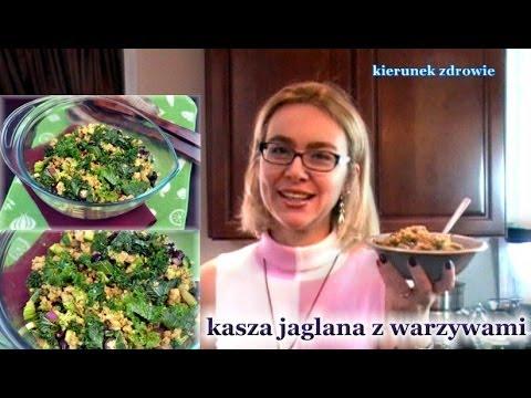 Kasza jaglana z warzywami / zdrowe odżywianie / kierunek zdrowie