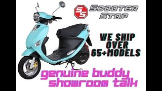 3. Genuine Buddy 50cc at Scooter Stop of Charleston, SC