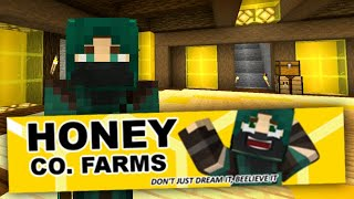 Introducing HONEY CO. FARMS! - Shady Oaks SMP (Minecraft)