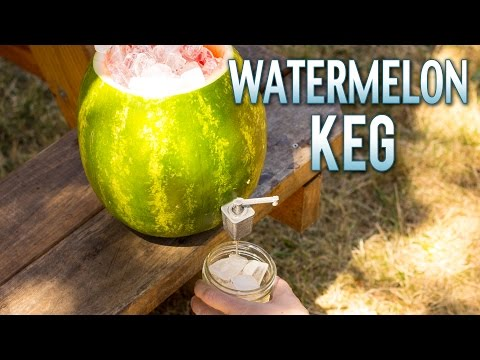 Want to Make Any Watermelon a Keg Just 3D Print This