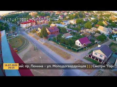 ДТП (авария г. Волжский) пр. Ленина - ул. Молодогвардейцев 16-07-2020 20-15