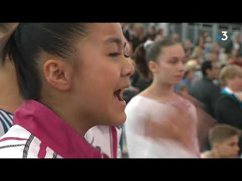 Championnat de France de gymnastique de Caen 2018