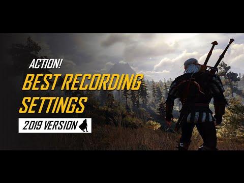Mirillis Action! - Best Recording Settings 2019