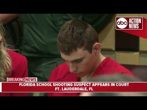 Court hearing held for Nikolas Cruz (видео)