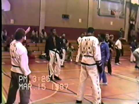 Exclusive! Teenage Michael Jai White fighting, 1987 Tournament.mp4