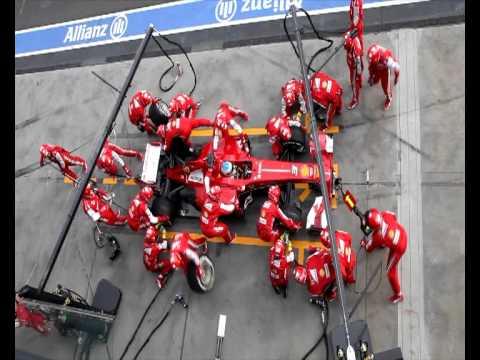 Video Ferrari F1 Pit Stop Perfection download in MP3, 3GP, MP4, WEBM, AVI, FLV January 2017