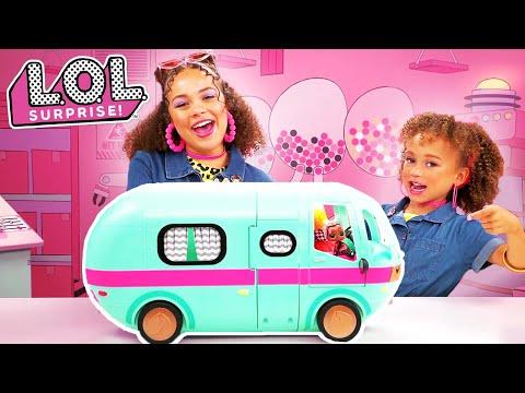 UNBOXED! | LOL Surprise! | 2-in-1 Glamper | Season 4 Episode 9