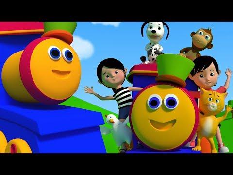 Bob der Zug | Rig ein Jig Jig | Kinderreime | Vorschul-Songs | Bob and Friends | Rhymes For Kids