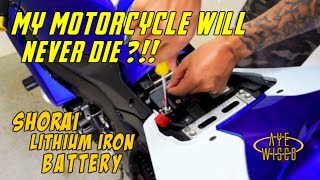 1. Super Light Weight + Long Lasting BATTERY on Suzuki GSXR 600