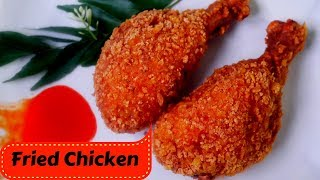 Tasty and crispy KFC style chicken.https://youtu.be/aHWHIJMyP-E Ingredients: Corn Flour(Non-Gmo)/Arrowoot Flour - 1 cup...