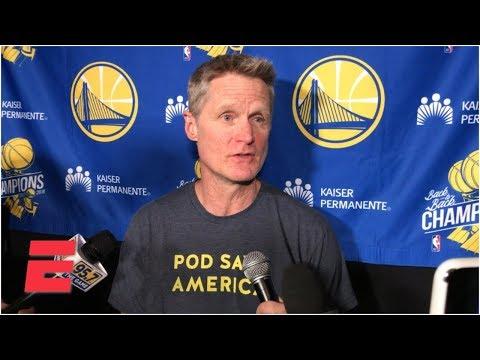 Video: Steve Kerr was a fan of Warriors' 'beautiful basketball' vs. Nuggets | NBA Sound
