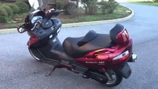 5. 2007 Suzuki Burgman 650 Ececutive