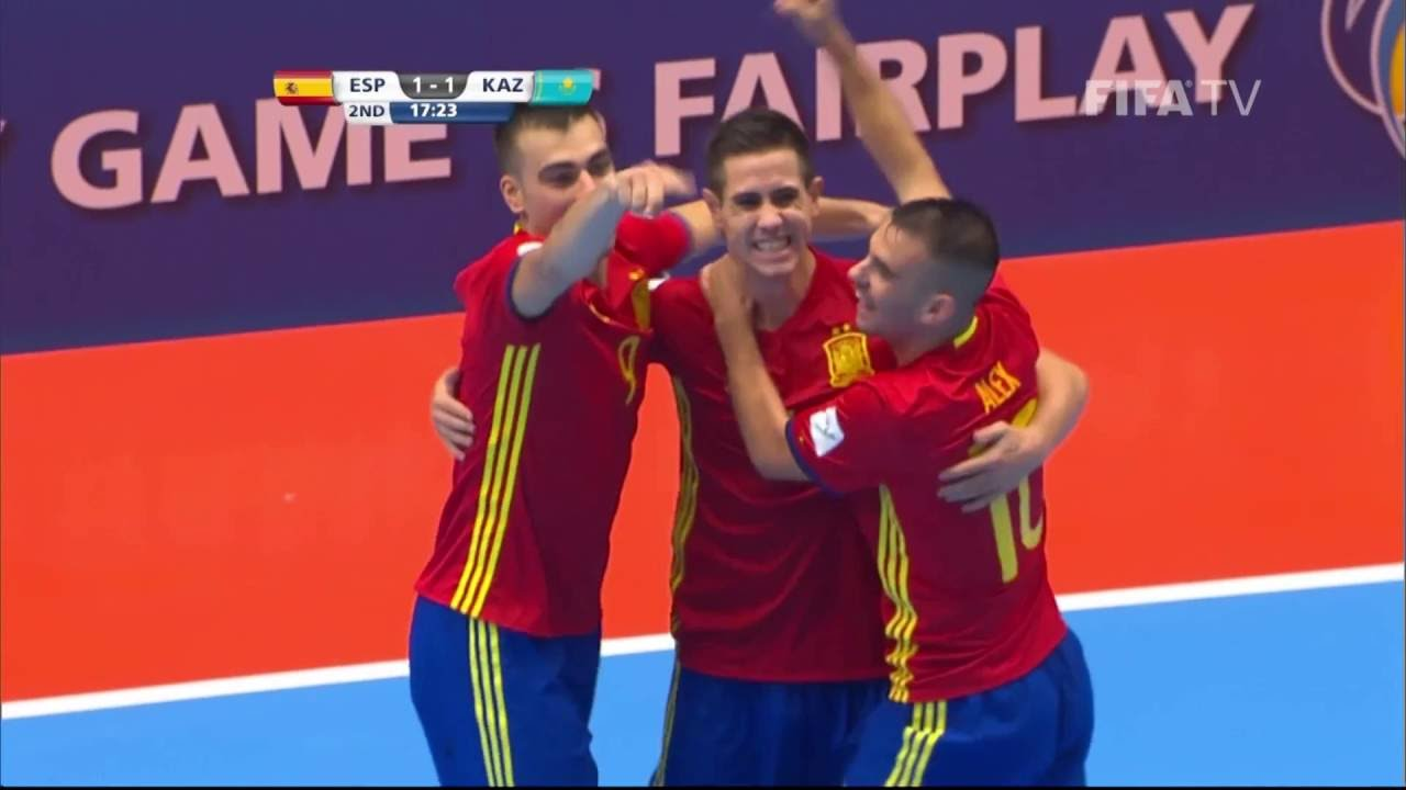Match 40:  Spain v Kazakhstan – FIFA Futsal World Cup 2016