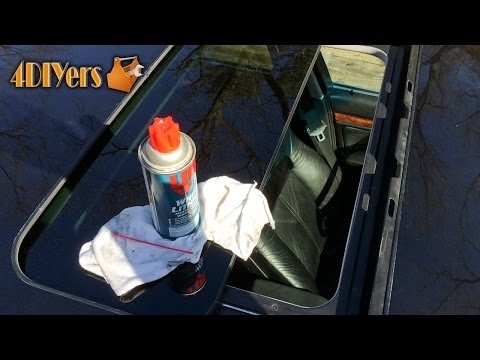How to Maintain your Sunroof Tips