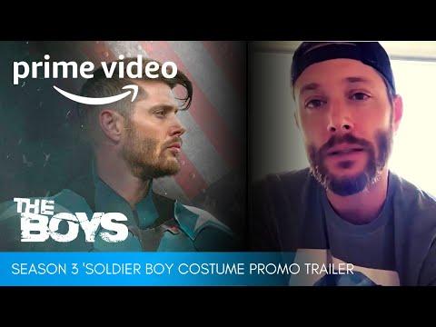 THE BOYS Season 3 (2021) Costume Promo Trailer Ft. Jensen Ackles's Soldier Boy | Amazon Prime Video