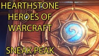 Hearthstone Heroes of Warcraft SNEAK PREVIEW by Wowcrendor (WoW Machinima)