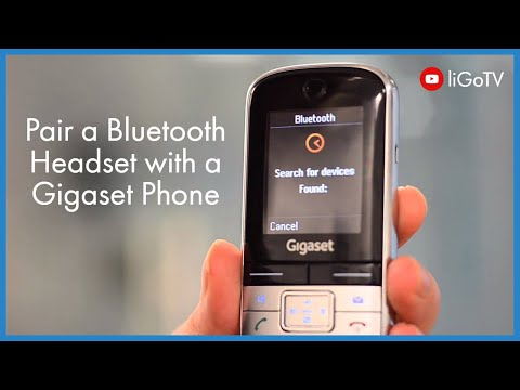 How to Pair a Bluetooth headset with a Gigaset Phone