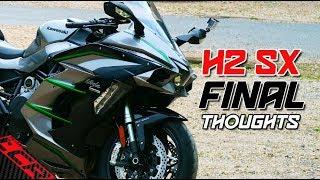 9. Living with the 2019 Kawasaki Ninja H2 SX SE