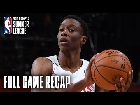 Video: PACERS vs HAWKS | Jordan Sibert Scores Game-High 21 Points For ATL | MGM Resorts NBA Summer League