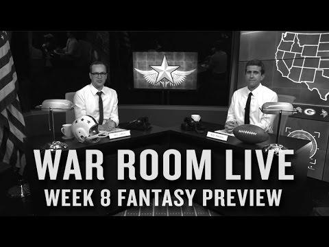 NFL Week 8 Fantasy Football Preview