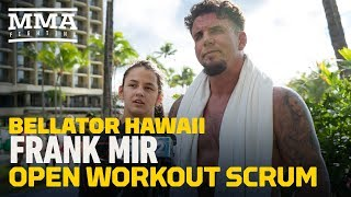 Video Bellator 212: Frank Mir Explains Why He Will Have Daughter in Corner - MMA Fighting MP3, 3GP, MP4, WEBM, AVI, FLV Desember 2018