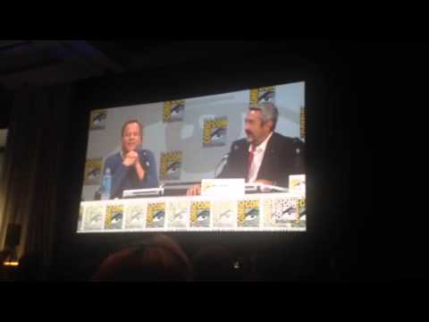 sutherland - Kiefer Sutherland's Funny 24 Story At Comic Con 2014 Kiefer Sutherland, the star of 24, shares a funny story at the 24 Panel at Comic Con 2014, with Jon Cassar.