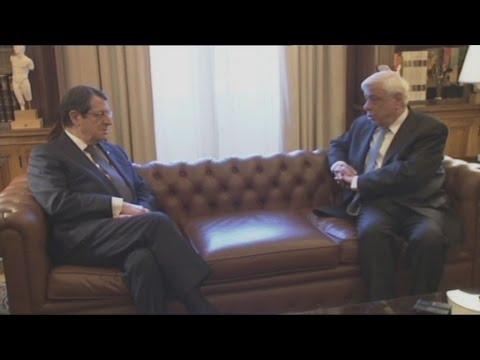 Συνάντηση Πρ. Παυλόπουλου  και Ν. Αναστασιάδη