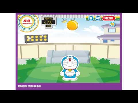 【英國版哆啦網遊】 - 「哆啦頂球樂」 DORAEMON TOUCHING BALL GAME  試玩影片