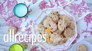 Cookies sans gluten aux pépites de chocolat