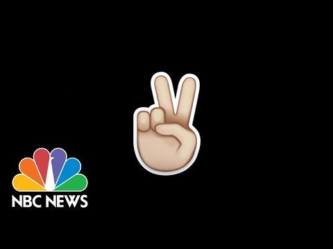 Emoji Trends From Around The World | NBC News