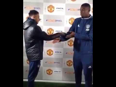 Quando Paul Pogba incontra Jesse Lingard