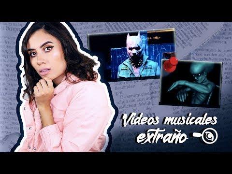 ¡6 EXTRAÑOS VIDEOS MUSICALES! - Paulettee