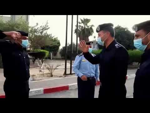 مدير عام الشرطة اللواء محمود صلاح يتفقد أحوال النزلاء في نظارة شرطة رفح ويقوم بتسوية وضع عدد منهم