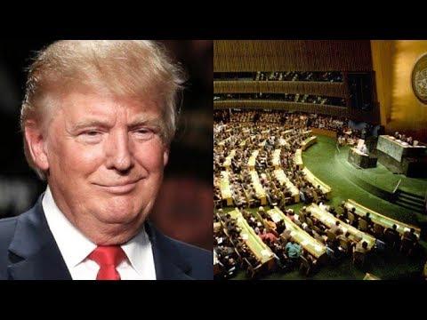 Livе: выступление Дональда Трампа на Генеральной Ассамблее ООН - DomaVideo.Ru