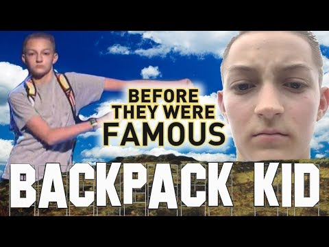 BACKPACK KID - Before They Were Famous - Russell Horning aka I Got Barzz (видео)