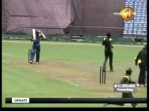 Pakistan vs Sri Lanka, 1st Test, Galle, 2012 - Presentation Ceremony